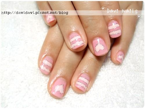 20120202。粉紅條紋甜心