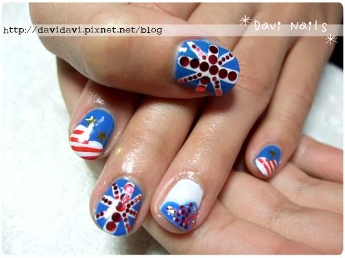 20120210。英美國旗塗鴉