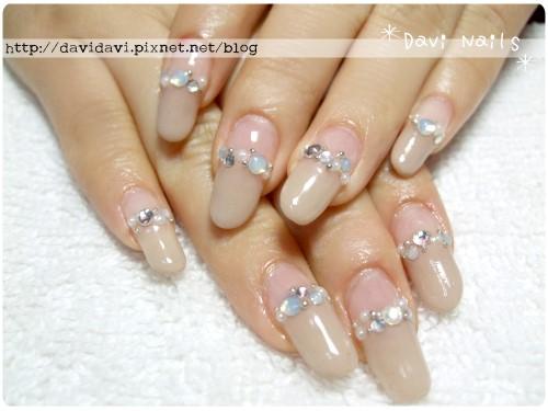 20120214。奶茶色珍珠