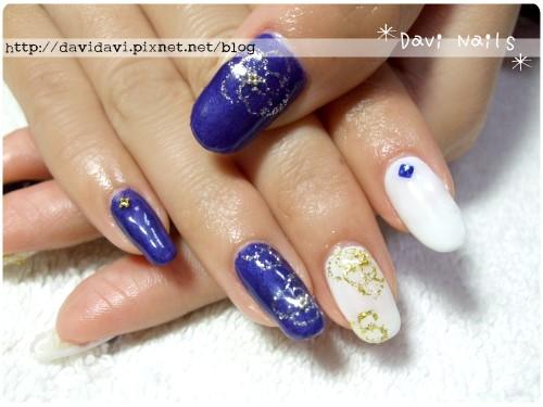 20120301。寶藍色金線花