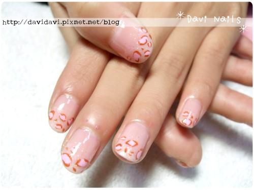 20120131。淺粉色豹紋