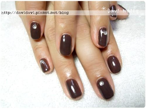 20120308。簡約深褐色