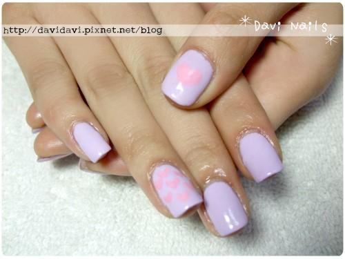 20120312。粉紫色愛心