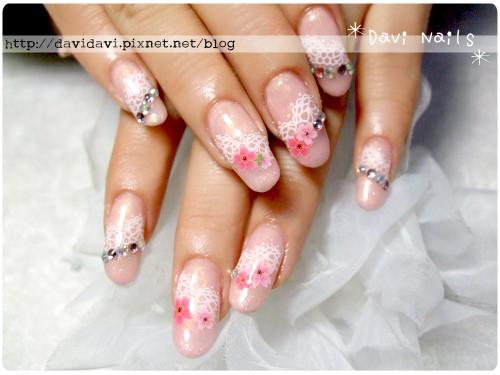 20120308。蕾絲粉嫩櫻花