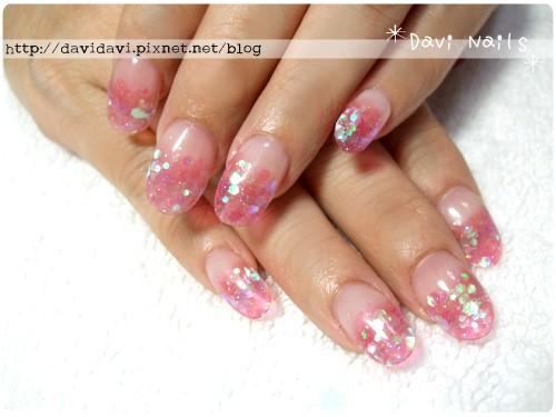 20120413。果凍粉紅璀璨