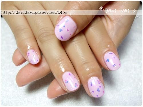 20120415。嫩粉紅亮片