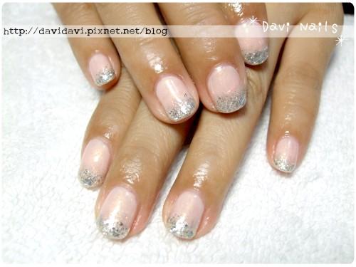 20120423。裸粉色x銀色璀璨