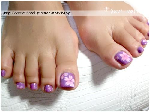 20120515。紫色x粉櫻花