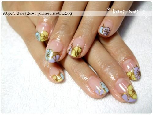 20120522。工筆花朵法式
