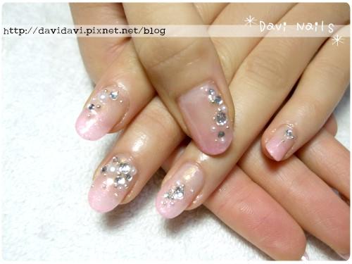 20120629。華麗粉紅璀璨寶石