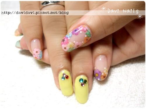 20120626。活力黃色x小花朵朵