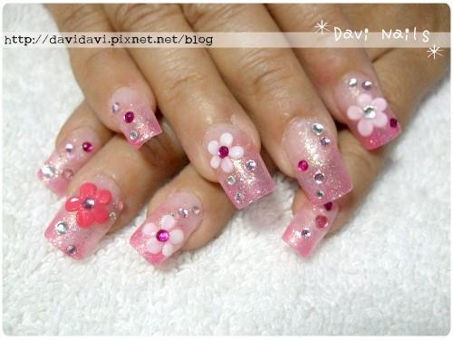 20110419。粉色系小花