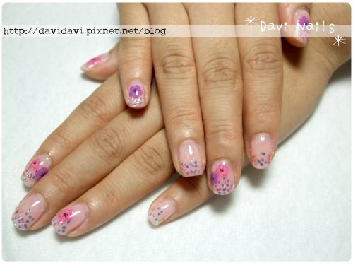 20101004。初秋紫感花朵