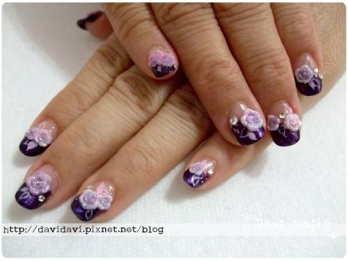 20100831。神秘紫玫瑰