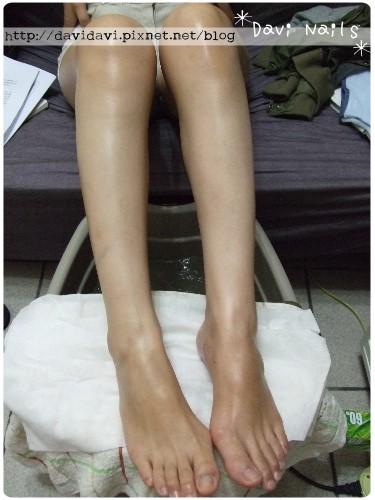 20100923。深層美白保養敷膜前