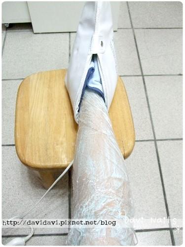 20100917。深層美白保養敷膜熱護套導入中