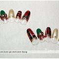 20101211。格紋聖誕風
