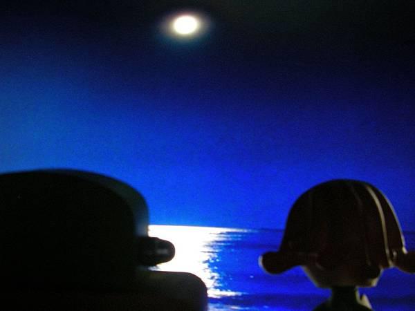 藍色的月夜