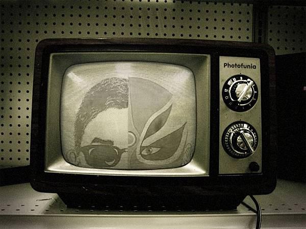 復古黑白電視