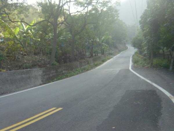 馬路開始縮小了