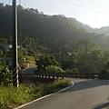 蜿蜒在山中的北坑巷