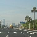中山路往市區方向
