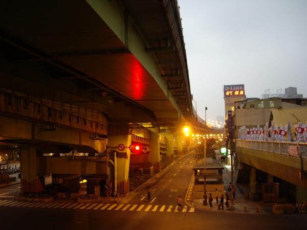 早晨的市民大道