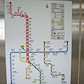 台北捷運營運圖