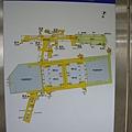 台北車站B1平面圖