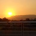 壽山和日落