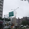 在台北市難得一見的省道指示路標