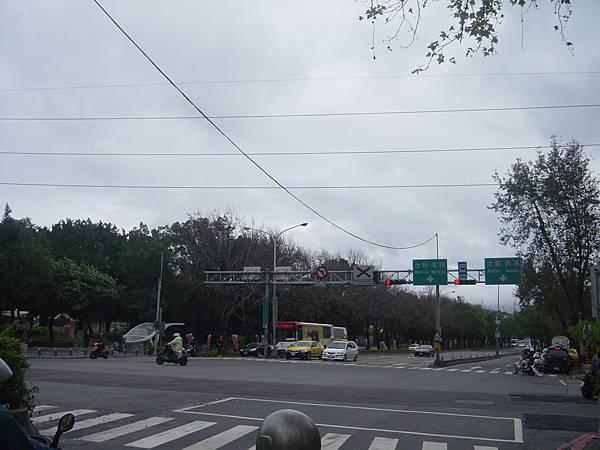 中山北路靠近美術館