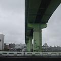 環東大道跨越南湖大橋和內湖線