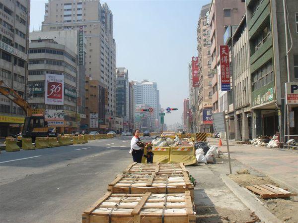 人行道復原工程(瑞源路附近)