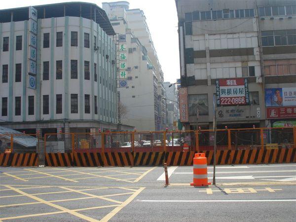 被封閉的文武街