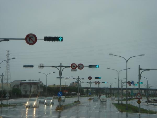 快車道禁止左轉