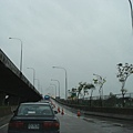 排隊上高速公路