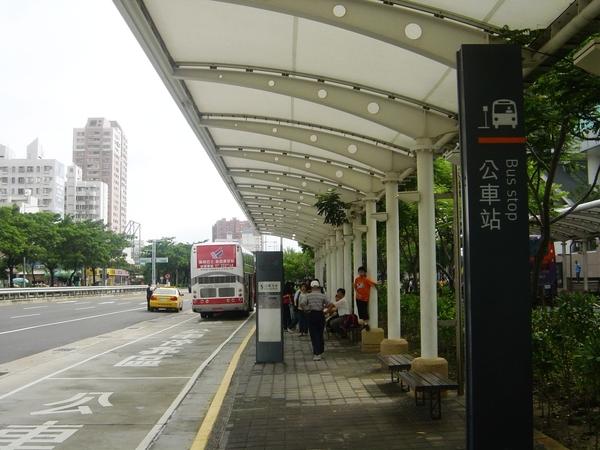 候車公車站牌
