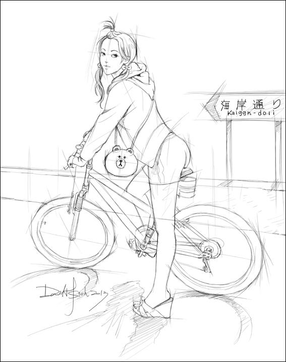 bike girl-2
