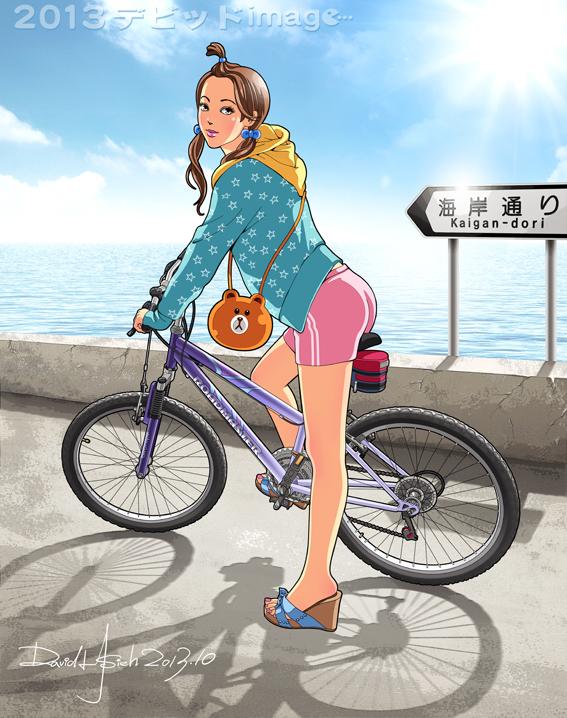 Bike Girl-3