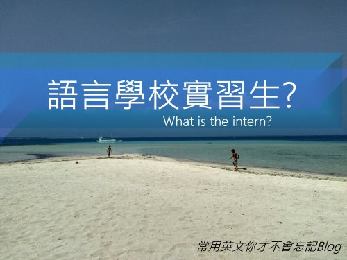 what is the intern