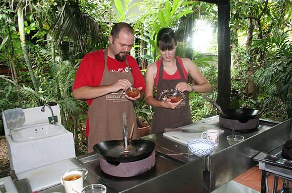 泰式料理烹飪課