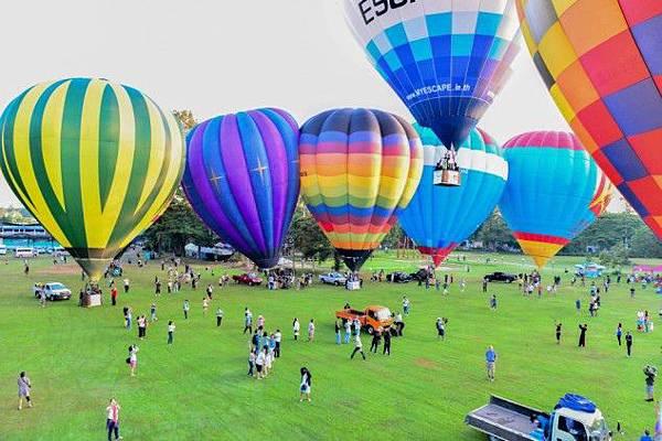 2013泰國熱氣球節