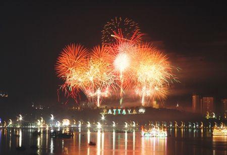 泰國各地新年跨年倒數節慶