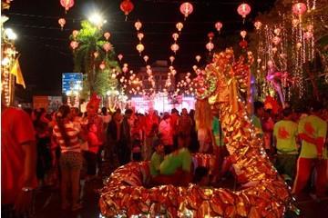 泰國各府迎接2014中國新年的歡慶活動