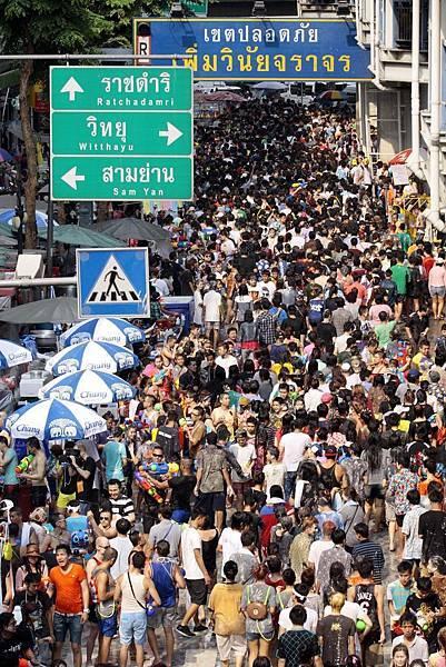 2014泰國新年—宋干節(潑水節)