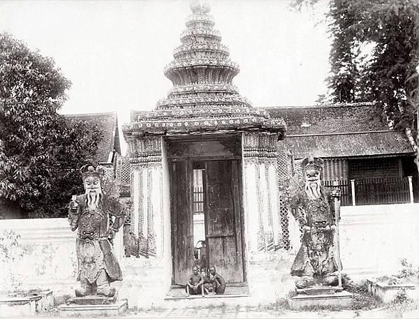 1880年泰國臥佛寺