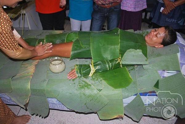 泰國彭士洛香蕉葉水療中心(สปาใบตอง)