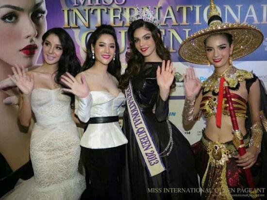 國際變性人選美大賽泰國開幕