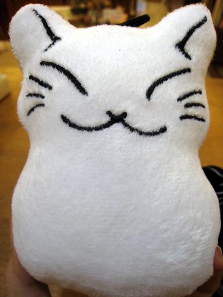 貓雪人螢幕擦 白